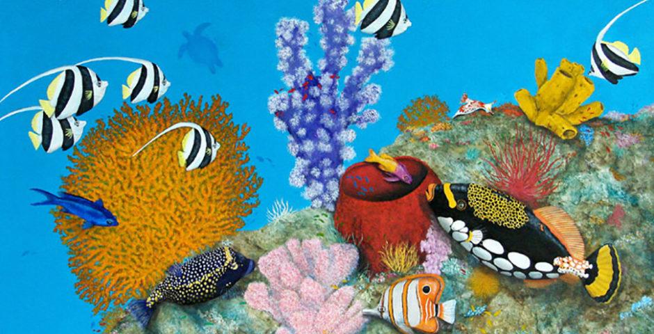 Merveilles des Océans -100x65 - Acrylique
