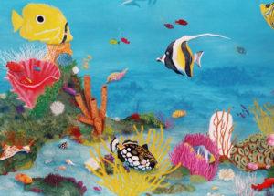 Merveilles des mers - 120x80- acrylique